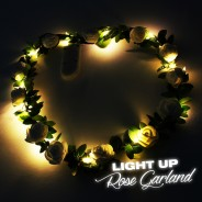 LED Rose Garland 3