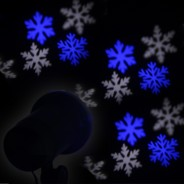LED Snowflake Projector 1
