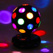 "5"" LED Rotating Disco Ball 1"