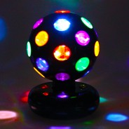 "5"" LED Rotating Disco Ball 2"
