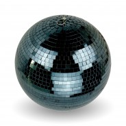 30cm Black Mirror Ball 3