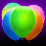 Neon Balloons 1