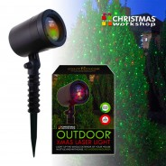 Outdoor Christmas Laser Light (Multi Function) 2