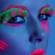 Neon Feather Eyelash 4
