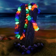 Neon Hawaiian Lei Set Wholesale 1