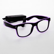 Light Up Party Fun Glasses 9 Purple