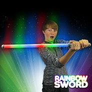 Flashing LED Rainbow Sword Wholesale 2