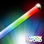 Flashing LED Rainbow Sword Wholesale 1
