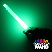 Battery LED Glow Stick -  Rainbow Wand Wholesale 2