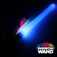Battery LED Glow Stick -  Rainbow Wand Wholesale 5