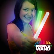 Battery LED Glow Stick -  Rainbow Wand Wholesale 7