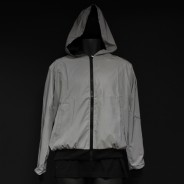 Reflective Hooded Bomber Jacket 4