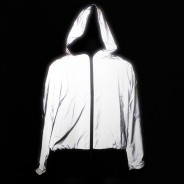 Reflective Hooded Bomber Jacket 1