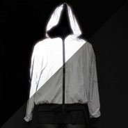 Reflective Hooded Bomber Jacket 2