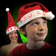 Flashing Santa Hat 1
