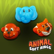 Light Up Animal Soft Rings 2