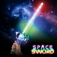 Silver Rainbow Space Sword 2