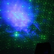Space Galaxy Laser Projector 4 Star and cloud effect