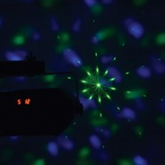 Tetra LED Moonflower Disco Light with Lasers 15