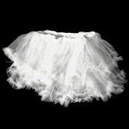 UV Ruffle Tutu  1 White