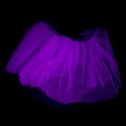 Neon Tutu  3 Neon Purple