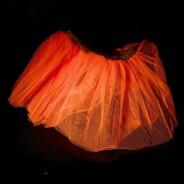 Neon Tutu  2 Neon Orange