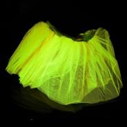 Neon Tutu  1 Neon Yellow
