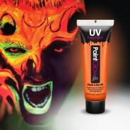 UV Face Paint 12 Orange