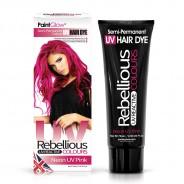 UV Semi Permanent Hair Dye  6 Neon UV Pink