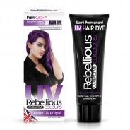UV Semi Permanent Hair Dye  7 Neon UV Purple
