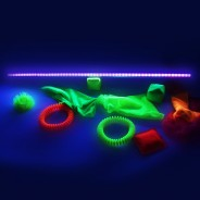 UV Strip Light 1m 2 UV reactive toys not included