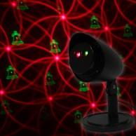 Indoor/Outdoor Xmas Laser Light Projector