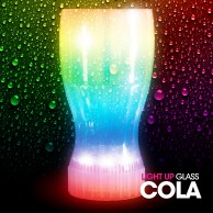 Flashing Coke Glass