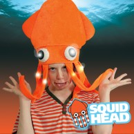 Light Up Squid Hat