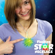 Flashing Star Necklace