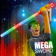 Flashing Mega Sword with Ball Wholesale