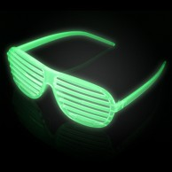 Glow in the Dark Shutter Shades Wholesale