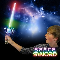 Silver Rainbow Space Sword