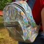 Silver Holographic Back Pack 2
