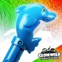 """Dolphin Mega Flashing Animal Wand 11"""" Wholesale 7"""