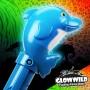 "Dolphin Mega Light Up Animal Wand 11"" 7"