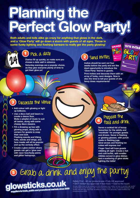 Planning the Perfect Glow Party