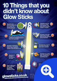 10 Things that you didn't know about Glowsticks