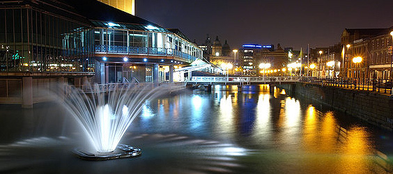 Hull Princes Quay Fountain