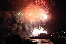 Plymouth British Fireworks Championship