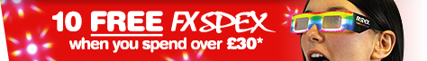 FREE FX SPEX when you spend over £30*
