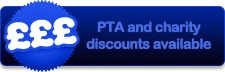 PTA and charity discounts available